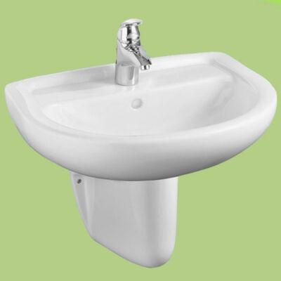 Alföldi Saval 40x40 cm sarok kézmosó porcelán fehér