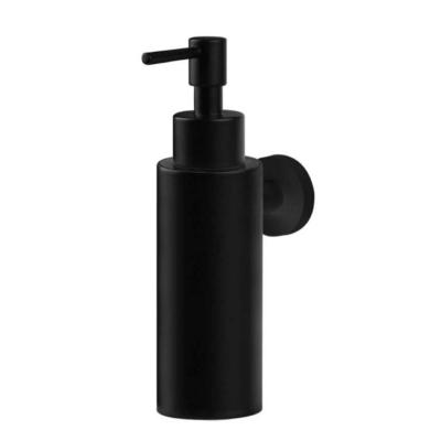 Fali folyékony szappanadagoló matt fekete színben